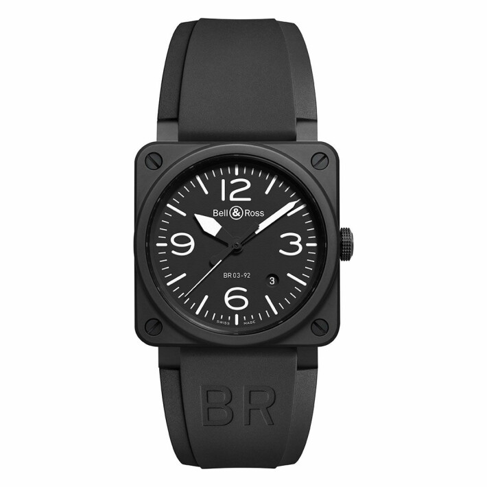 BR 03-92 Black Matte BR0392BLCE
