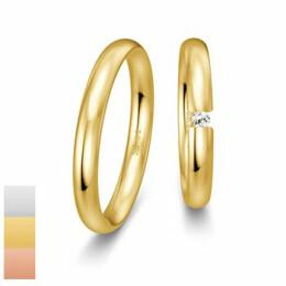 Snubní prsteny Basic Light III