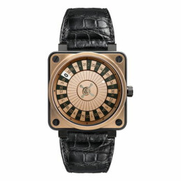 BR01-92 Casino Rose Gold & Carbon