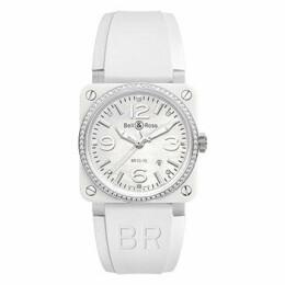 BR 03-92 White Ceramic Diamond