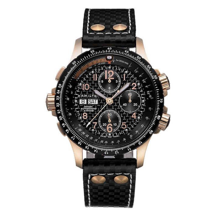 Khaki Aviation X-Wind Auto Chrono H77696793