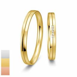 Snubní prsteny Basic Slim