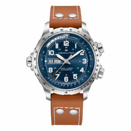 Khaki Aviation X-Wind Day Date Auto