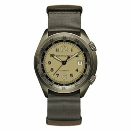 Khaki Aviation Pilot Pioneer Aluminium