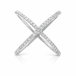 Prsten Nialaya Cross stříbrný