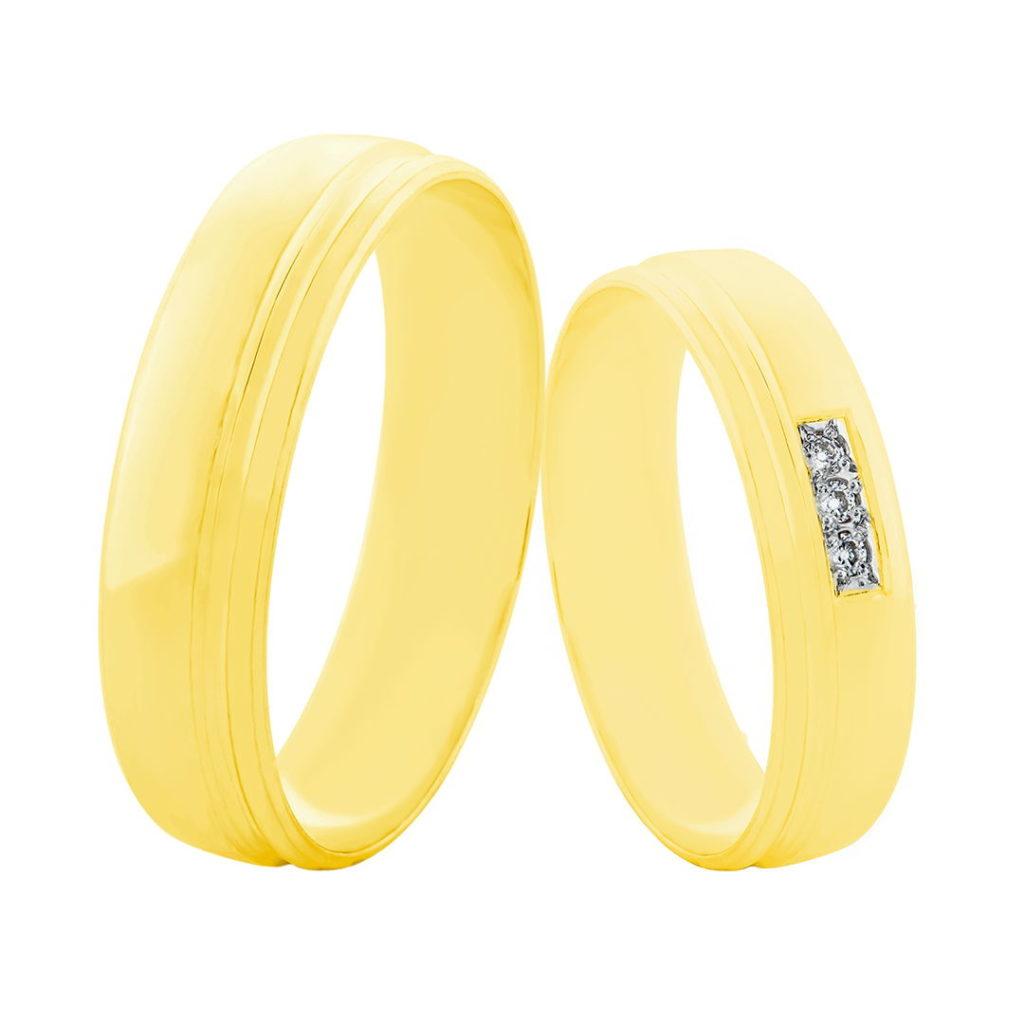 Snubní prsteny 99SN25Z - pár
