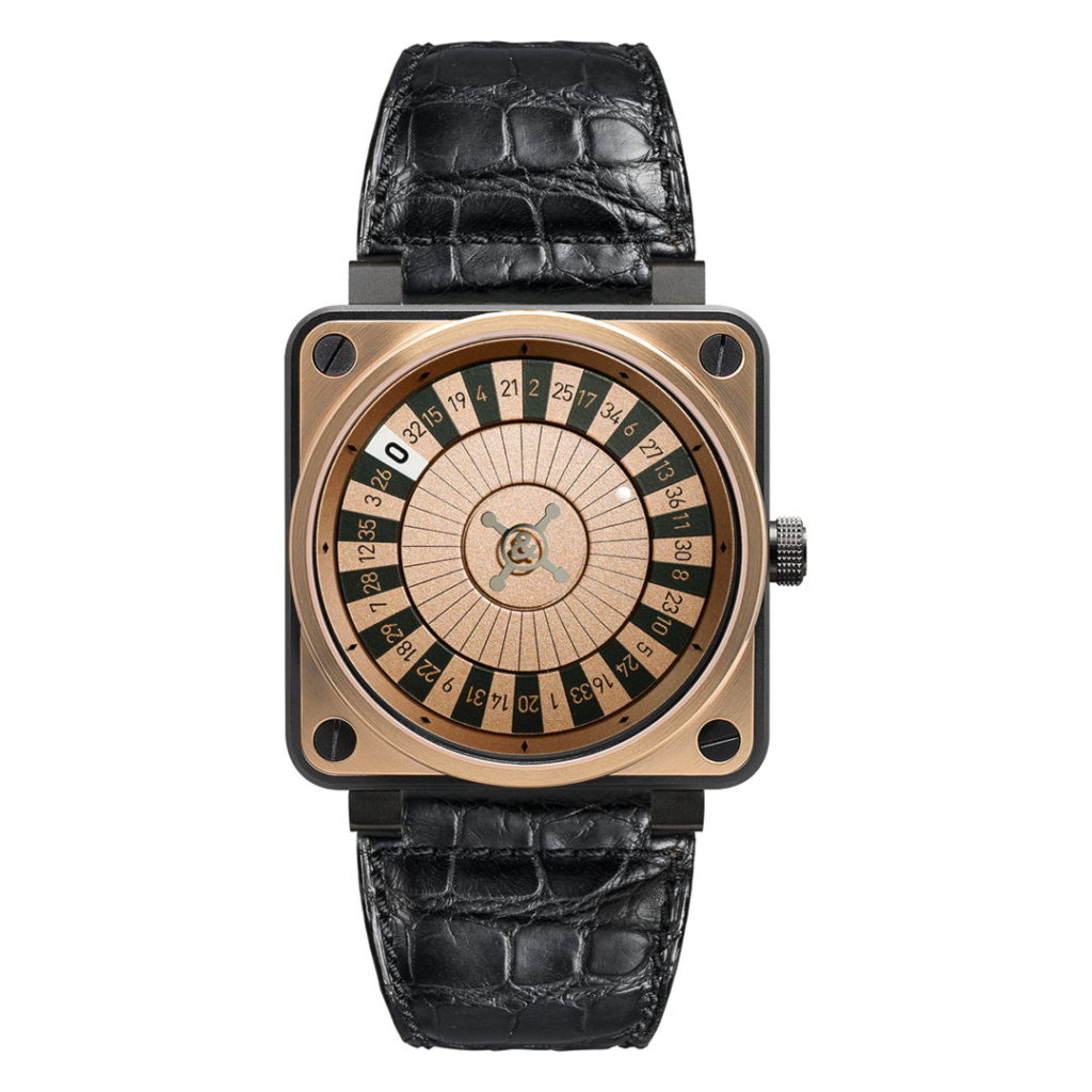 Hodinky Bell & Ross BR01-92 Casino Rose Gold & Carbon